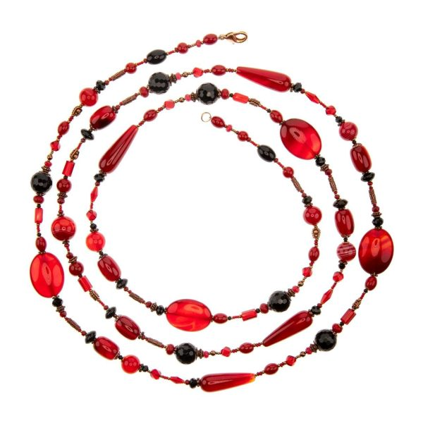 "Long beads ""Brazil"" Savitskaya Diana"