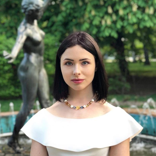 "Бусы ""Европа"" Diana Savitskaya"