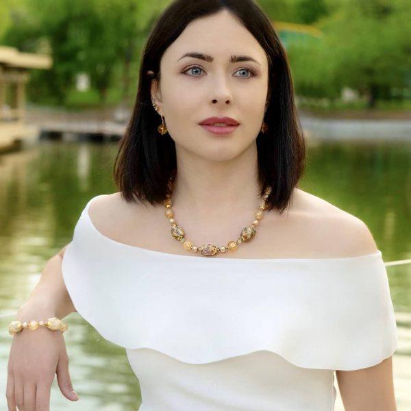 "Бусы ""Гера"" Savitskaya Diana"